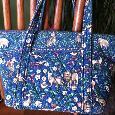 1a3fbf24cbf0 This is one of my favorite Vera Bradley patterns of all time ~Animal  Kingdom