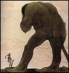 """Giant"" by John Bauer."