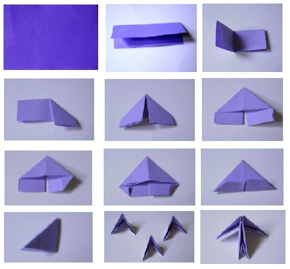 paper block for 3d origami