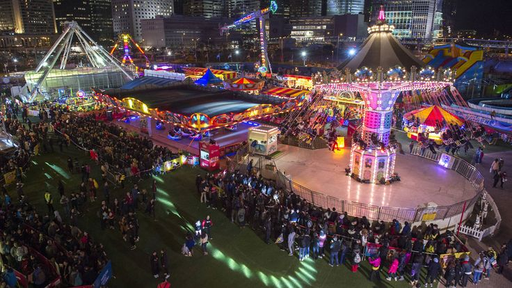 The AIA Great European Carnival (night)