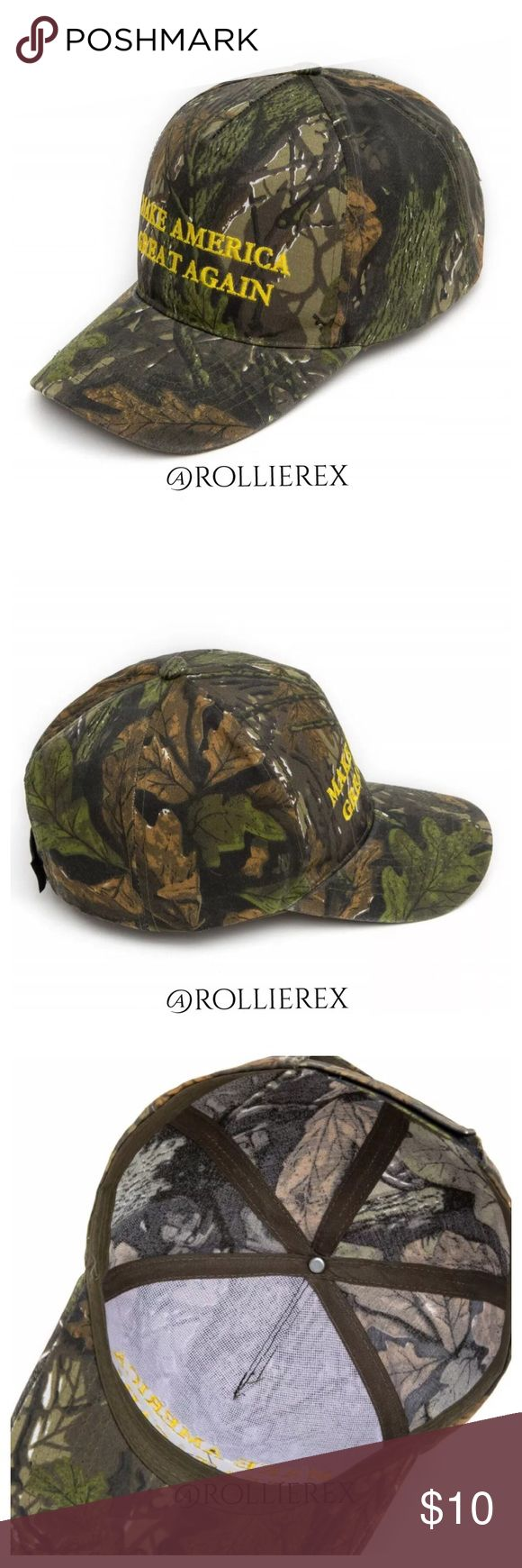 Trump Camo Hat Brand new without tags. Material is cotton. This is NOT a political forum! I'm selling this hat, not an argument! Accessories Hats