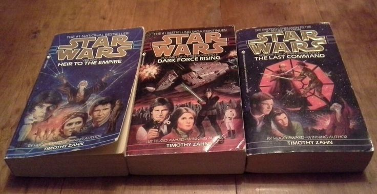 Star Wars Thrawn Trilogy, love Star Wars books! These are all by Timothy Zahn