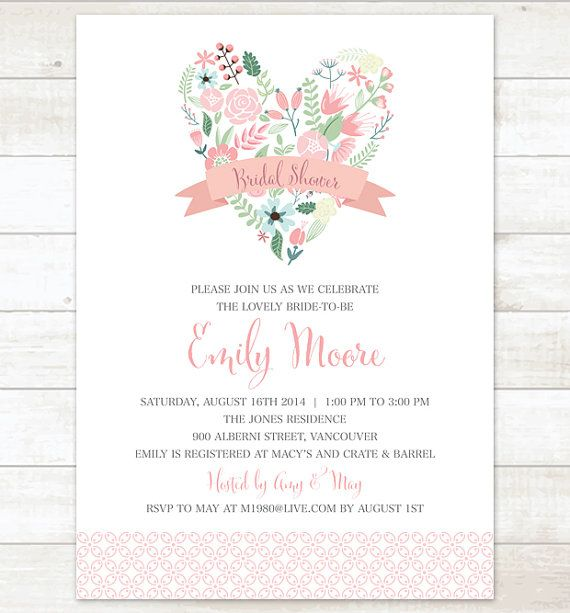 pink and mint flowers bridal shower by pinkdahliaprintable on Etsy