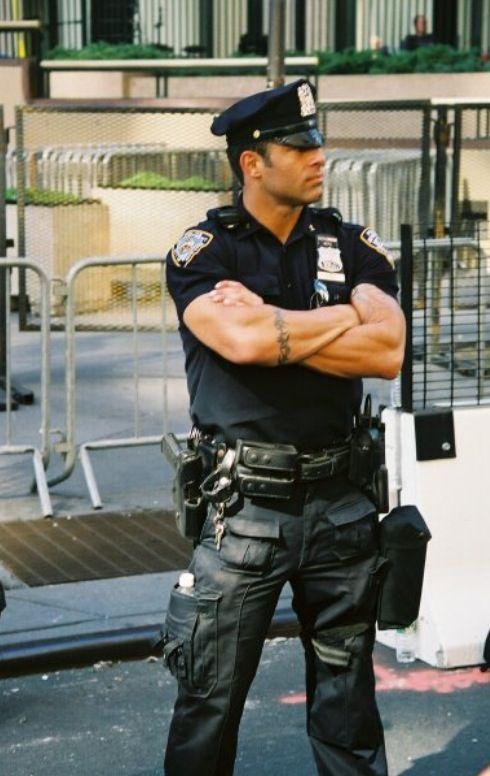 sexy gay men in uniform
