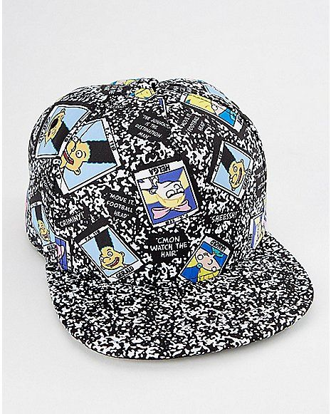 new style 9f4bc 6701f ... promo code for composition hey arnold snapback hat nickelodeon spencers  5b127 6e687