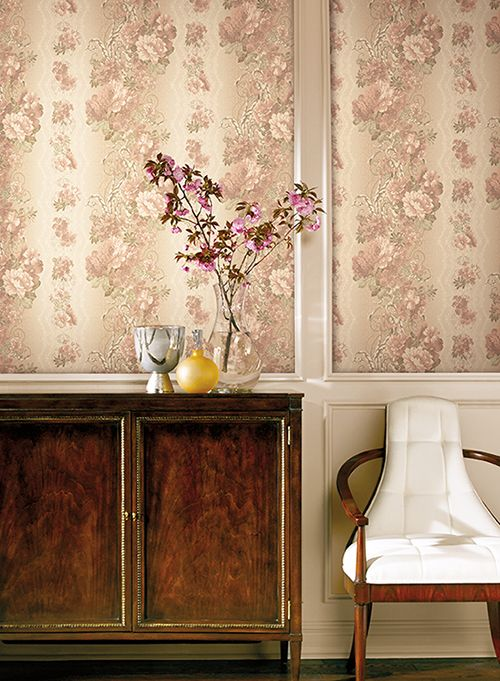 31 best Wallpaper images on Pinterest | Waverly wallpaper, Fabric ...