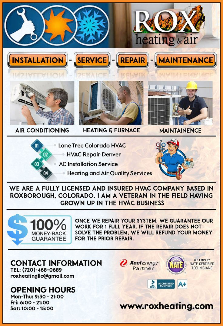Reliable Heating Service Littleton Heating Services Air