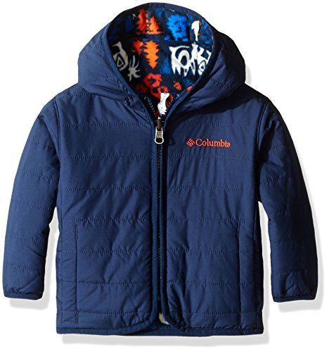 1e090adffc00 Columbia Baby Boys Double Trouble Jacket Collegiate NavyCritters 612 ...
