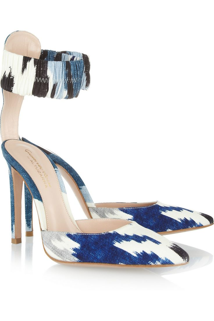for nice online Gianvito Rossi for Altuzarra Printed Pointed-Toe Pumps free shipping geniue stockist clearance pick a best discount with paypal p2waKe9Ee