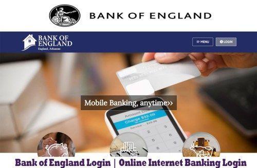 Bank of England Login   Online Internet Banking Login - Tecteem