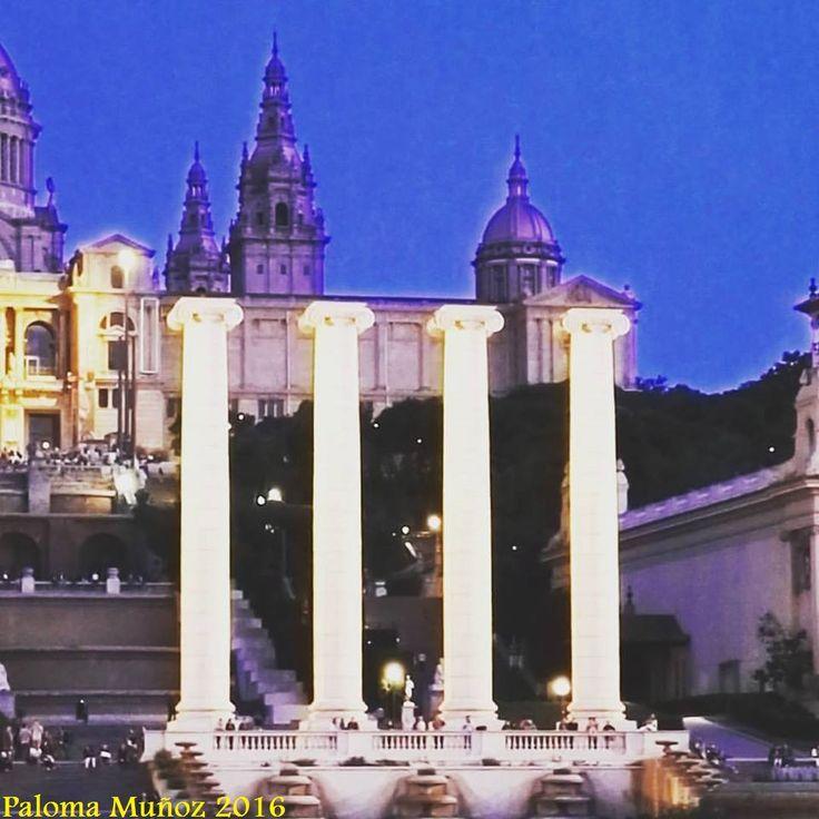 Recinto Ferial de Barcelona en la plaza de España. Ferial buildings in Plaza of España, Barcelona