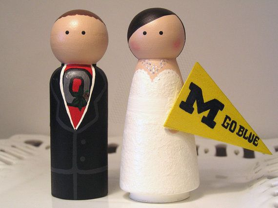 Sport Themed Cake Cuties Custom Wedding Cake by enamorweddings, $52.00. Love it! I would obviously have a Miami pendant.