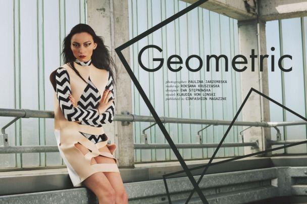 "Paulina Jarzembska: ""Geometric"" http://www.confashionmag.pl/webitorial/geometric-1.html"