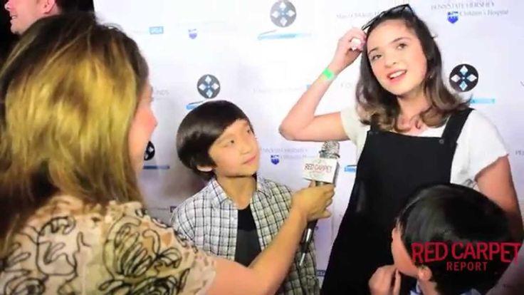 Ian Chen, Luna Blaise & Forrest Wheeler #FreshofftheBoat at the Lights Camera Cure #HollywoodDanceMarathon