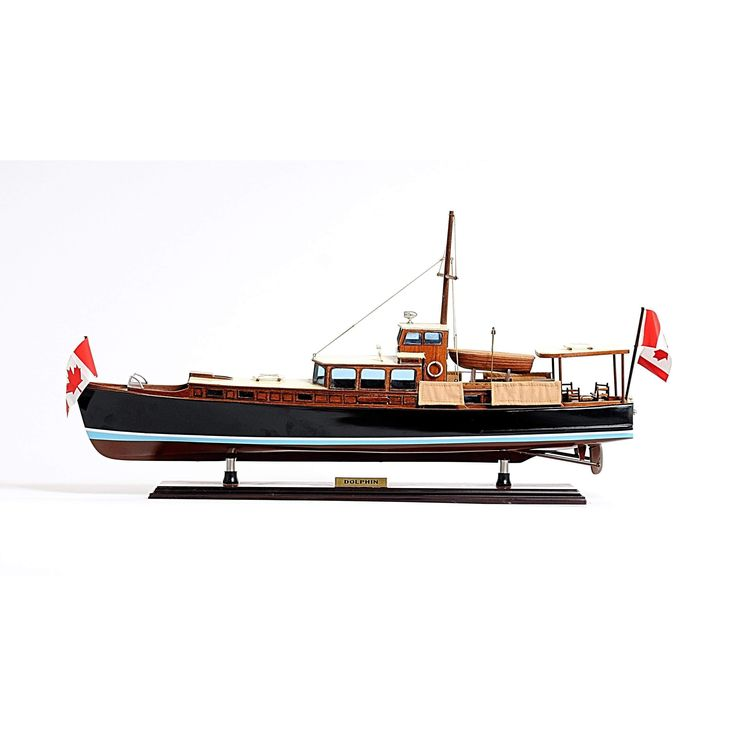 DOLPHIN PAINTED Model b105 by Old Modern Handicrafts