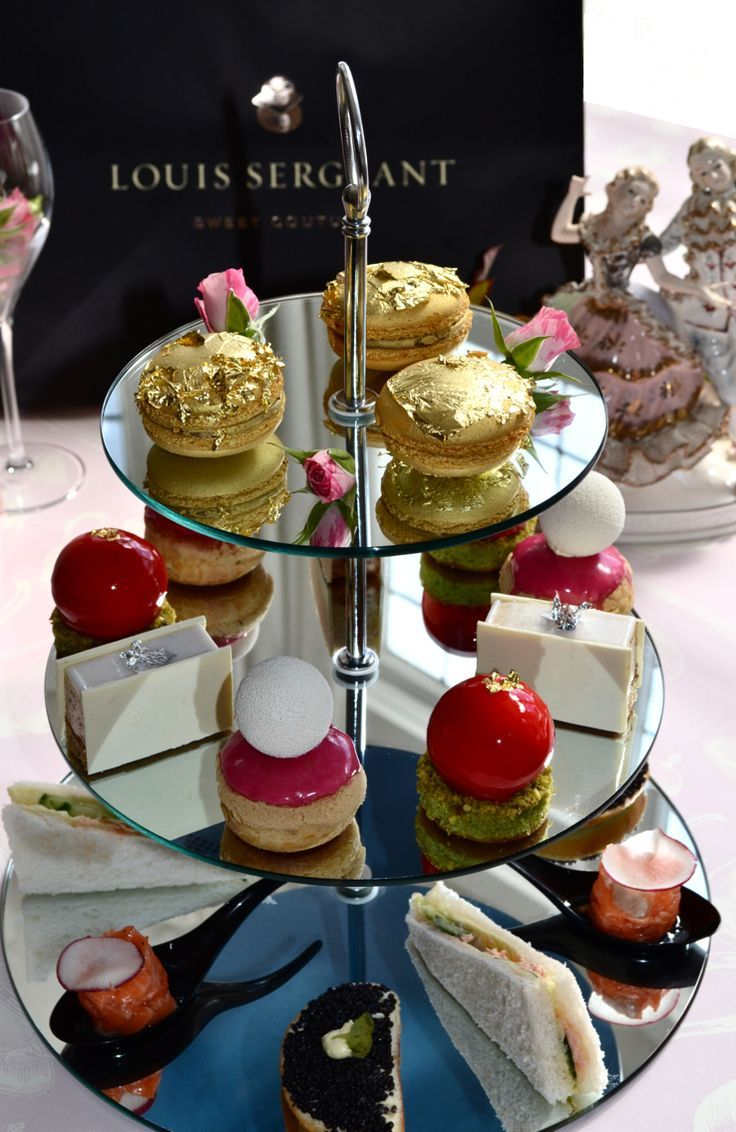 High Tea at Louis Sergeant with tea and champagne