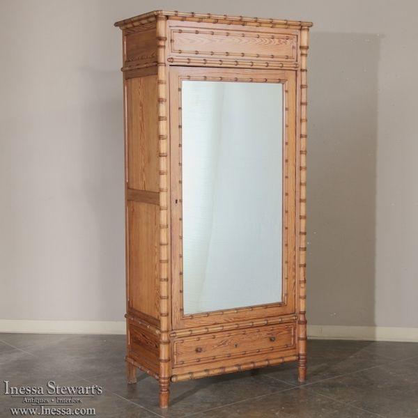 Mejores 208 imágenes de Antique Armoires, Wardrobes and Cabinets en ...