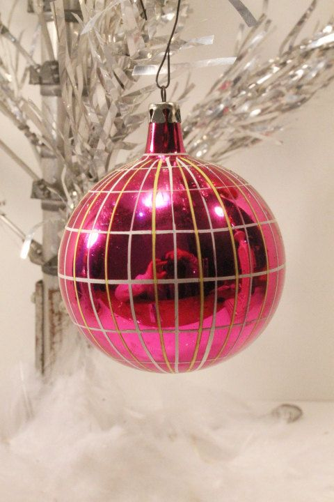 Christmas Ornament Vintage Mercury Glass Balls by ClockworkRummage, $10.00