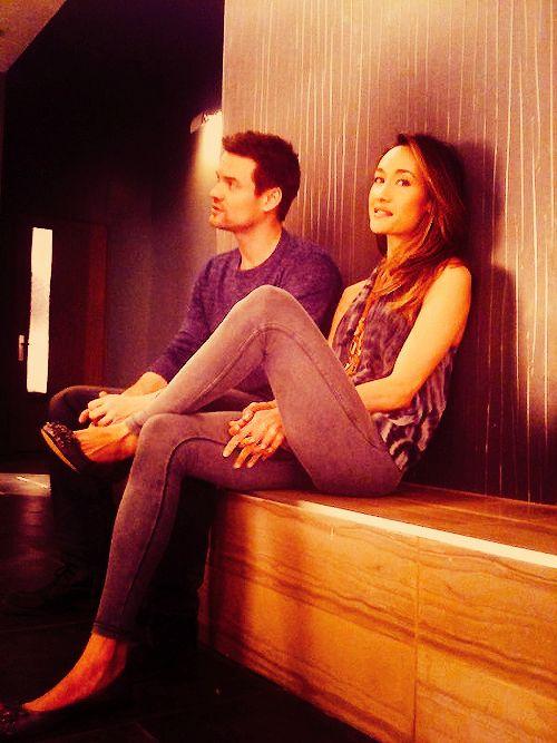 Shane West & Maggie Q :)