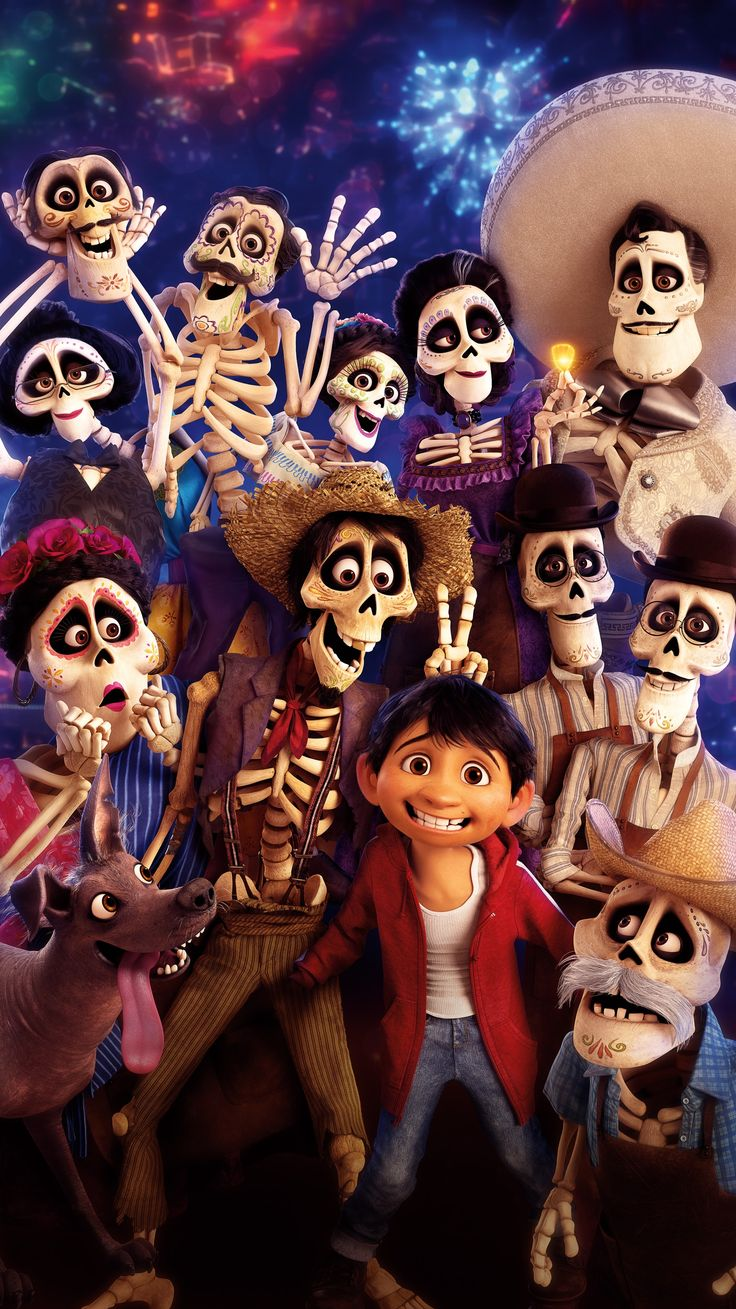 Coco (2017) Phone Wallpaper | Moviemania