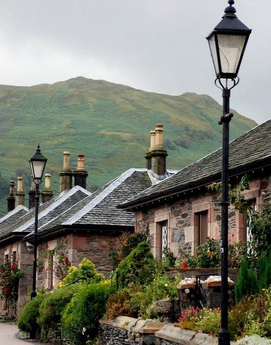 ~The village of Luss by the shores of Loch Lomond, Scotland (by andreabx)~