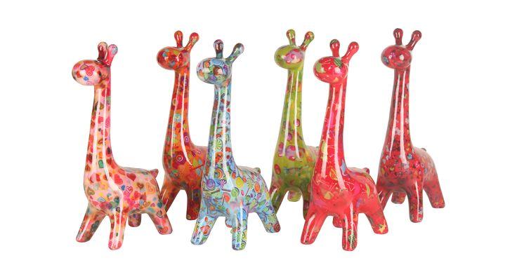 Spaarpot Giraffe van Pomme-Pidou http://www.toefwonen.nl/c-2216947/pomme-pidou/