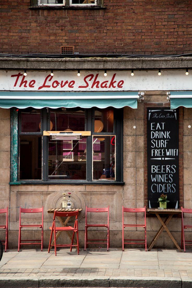 shevyvision: vamos todos a ir a tomar el almuerzo en el hoxton sacudida amor, Shoreditch, Londres