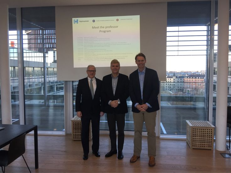 "Great to have the opportunity to speak on Clinical Phenotypes in CRS at Prof Von Buchwald's ""Meet the Professors"" day at Copenhagen and to have met Prof Jeff Myers from MD Anderson"