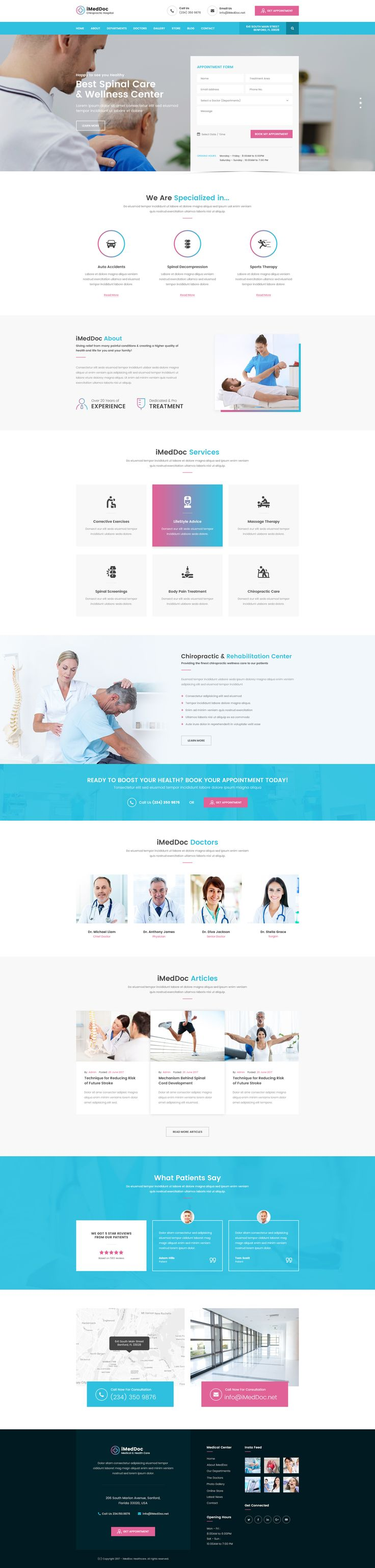 Download iMedDoc Medical Center and Health Care HTML5 Template Best Unique Website Themes for Doctors Hospitals Clinics https://themeforest.net/item/imeddoc-medical-center-health-and-wellness-html5-template/20471343?ref=microedges  #iMedDoc #Medical #MedicalCenter #Health #HealthCare #HTML5 #HTML5Templates #Templates #Best #Unique #Website #Themes #Doctors #Hospitals #Treatments #Cure #HTML5Design #Design #Downloads #Wellness #Fitness #Medicine #Clinic #Dentist #MediCare #Pharmacy #Surgeon