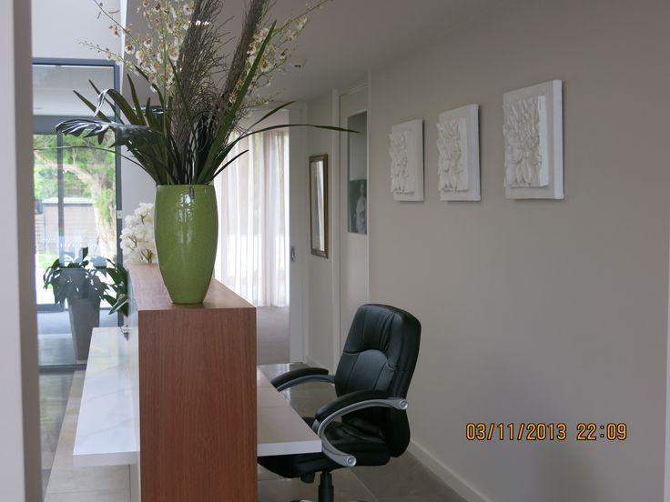 commercial reception centre art