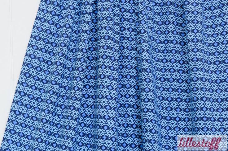 lillestoff » Rummy Kombi blau « // Design: Mia Maigrün // hier erhältlich: http://www.lillestoff.com/rummykombiblau-3424.html
