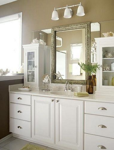 White Frame Bathroom Mirror 7 best bathroom mirror ideas images on pinterest | bathroom ideas
