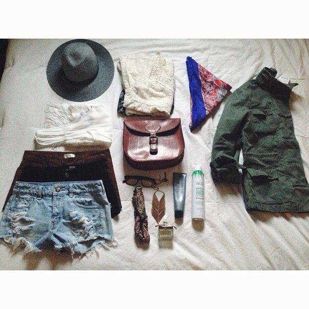 Music festival outfit. LOVE. #Music #Festival #Fashion