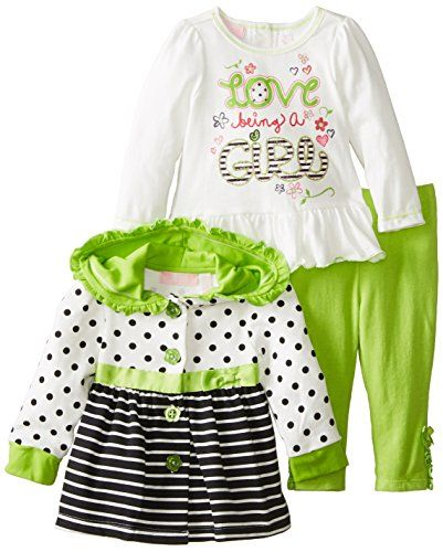 Kids Headquarters Baby-Girls Infant Black/White Jacket with Tee and Pants, Green, 18 Months Kids Headquarters http://www.amazon.com/dp/B00JFPU5BA/ref=cm_sw_r_pi_dp_lVPEub061CWQR