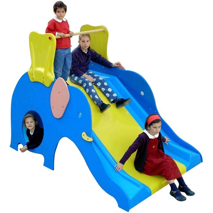 toboggan el phant succ s garantie pour enfants partir de 2 ans jeux enfant ext rieur. Black Bedroom Furniture Sets. Home Design Ideas