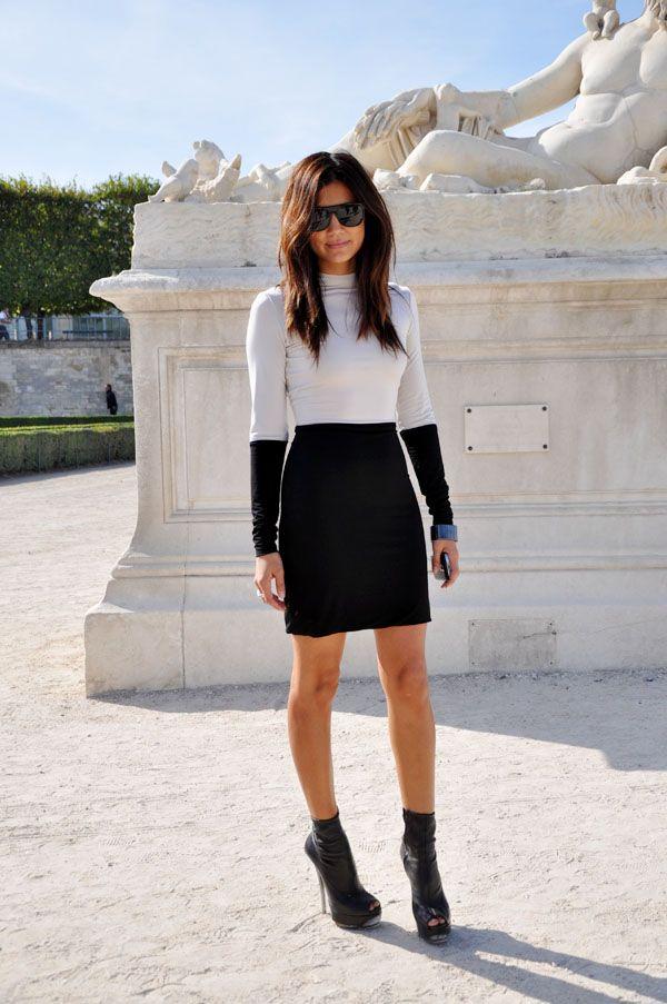 Fashion Icon Christine Centenera via The Fahsion Heels