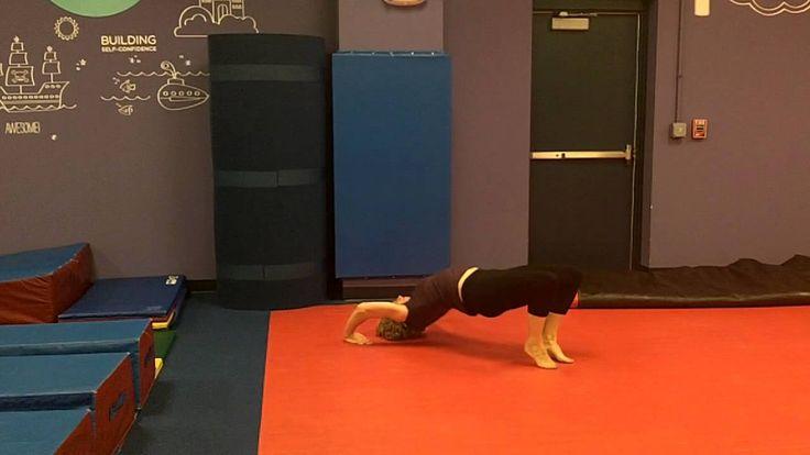USAG gymnastics level 2 floor routine