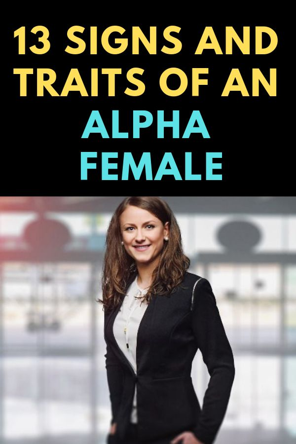 what is an alpha female called