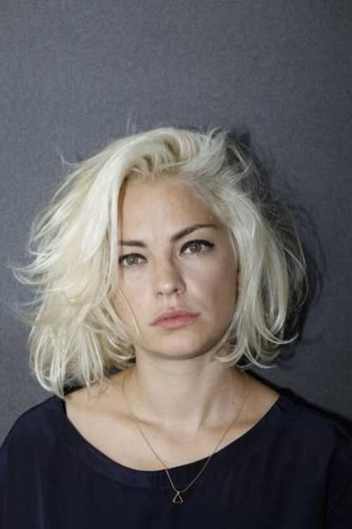 Chic Blonde Bob Hairstyles for Women