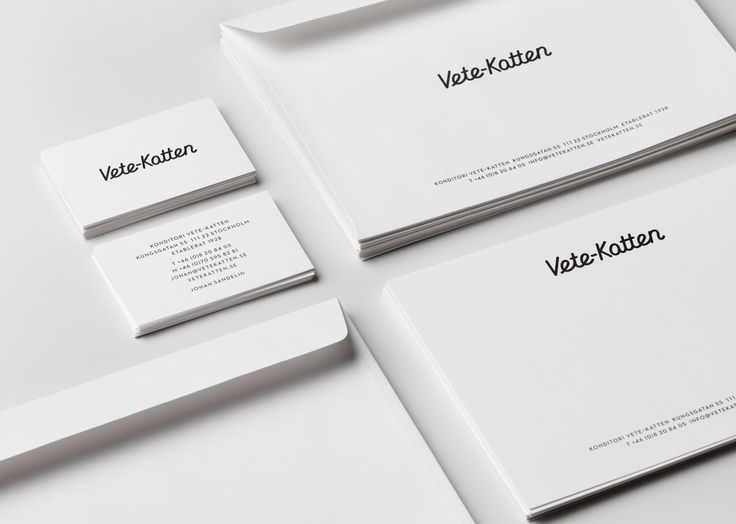 On the Creative Market Blog - 50 Creative Brand Stationery Sets to Inspire Yours