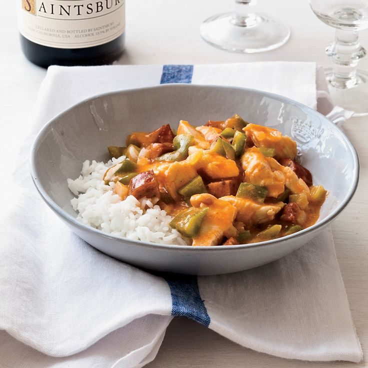 Chicken-and-Andouille Étouffée | Food & Wine