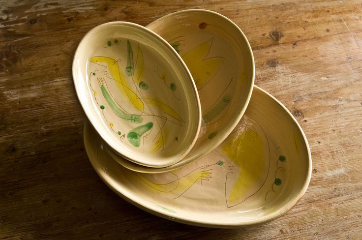 Trio Dual Bakeware and Serving Bowls with Artistic Design - dishesonly – DishesOnly