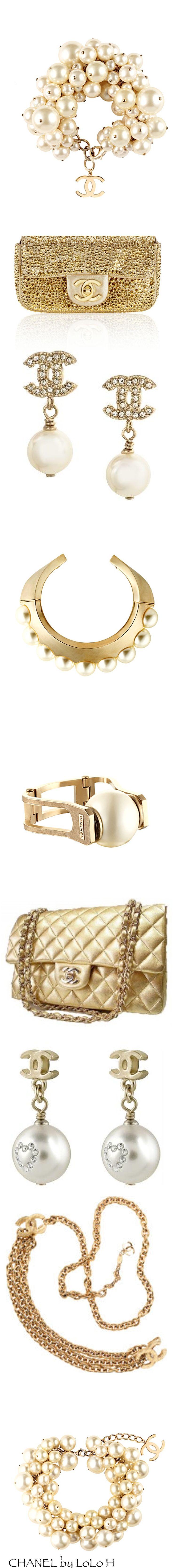 Golden & Golden Chanel  http://meikkibeibi.blogspot.fi