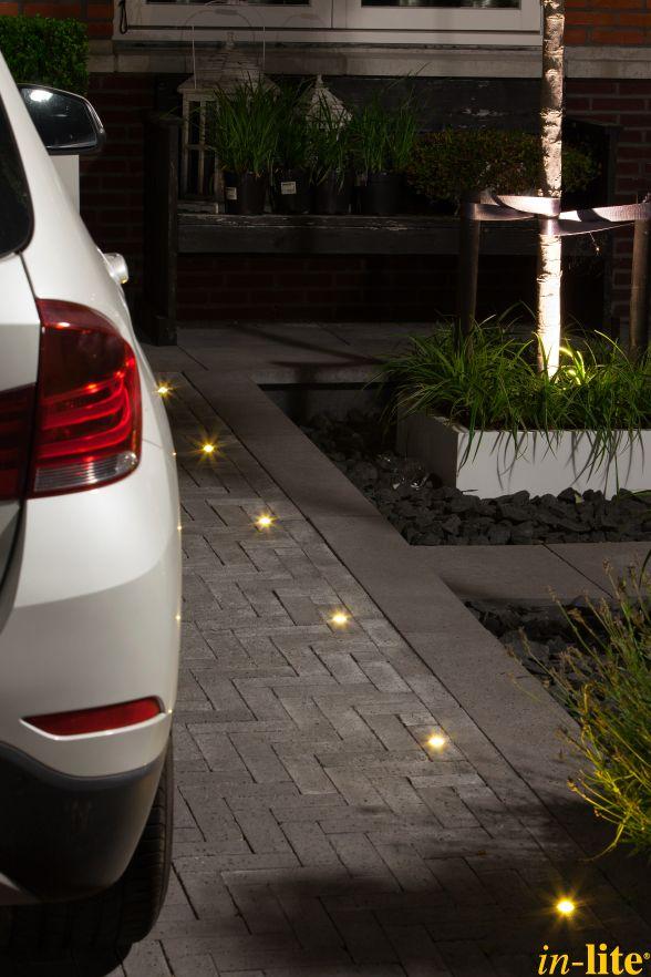 Veiligheid voorop | Parkeerplaats | Garage | Buitenverlichting | Oprit | Tuinverlichting 12V | Grondspot HYVE 22 | Inspiratie
