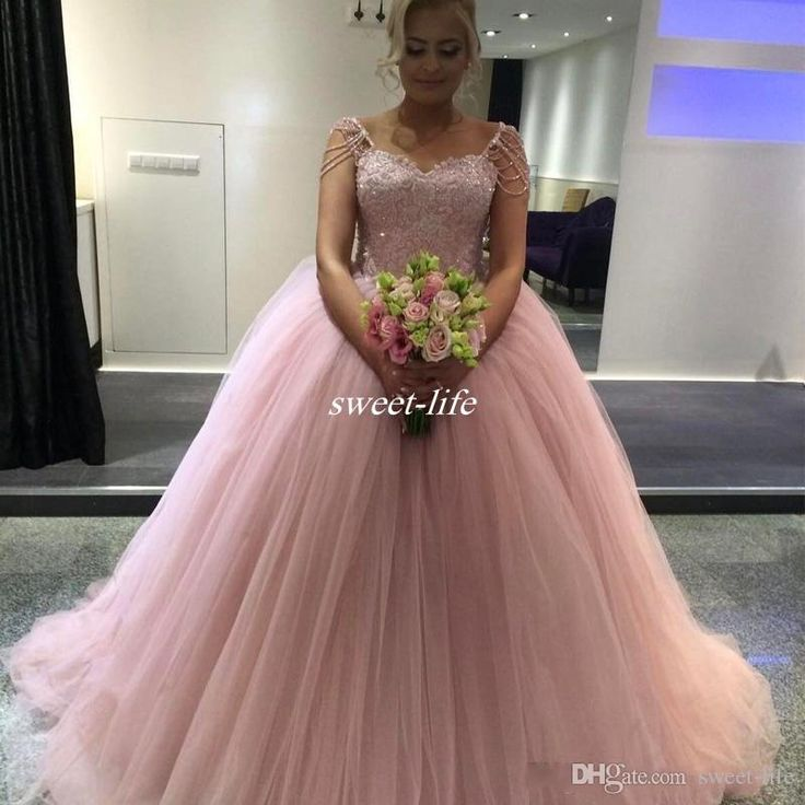Evening dresses 10 handpicked ideas to discover in for Plus size pink wedding dresses