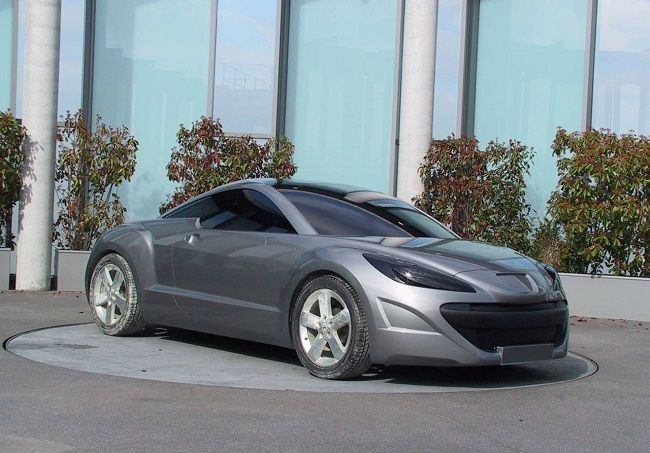 OG | 2010 Peugeot RCZ | Full-size clay model dated 2007