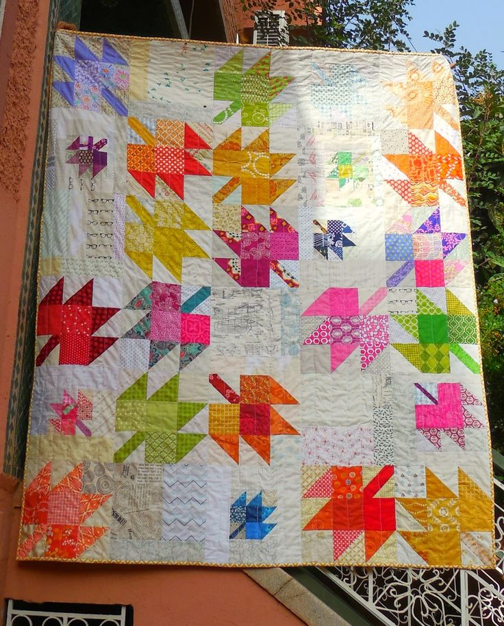 Life's Rich Pattern: Thoroughly Modern Maples quilt (Marrakech Edition) by Annabella (Marrakech, Morocco)