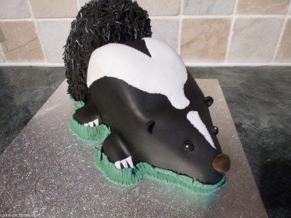 10 best skunk birthday party images on pinterest skunks for Cake craft beavercreek ohio