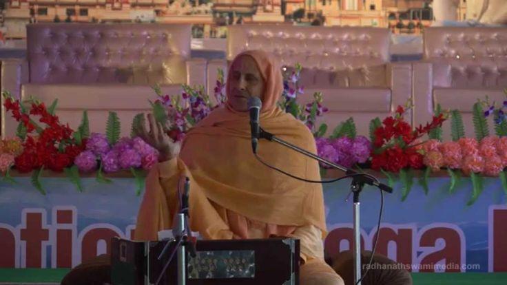 Radhanath Swami explains 'Qualities of Real Yogi'