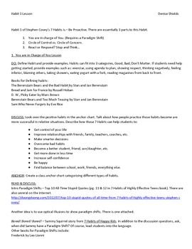 Worksheet 7 Habits Of Highly Effective Teens Worksheets 1000 images about 7 habits on pinterest highly effective people lesson plan to teach habit 1 of stephen coveys using